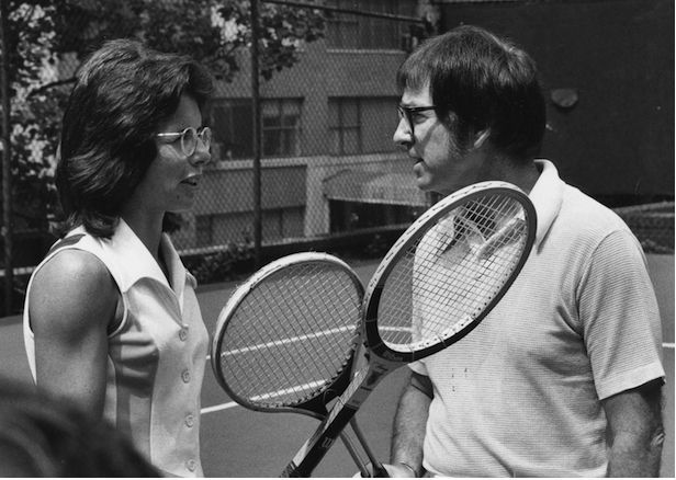Billie Jean with Bobby Riggs