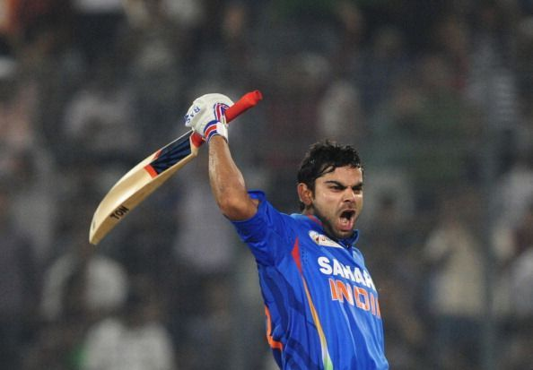Kohli scored at an incredible pace against arch-rivals Pakistan