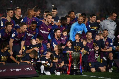 FC Barcelona have been utterly dominant in La Liga