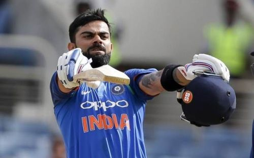 .Virat Kohli bends the situation to his will