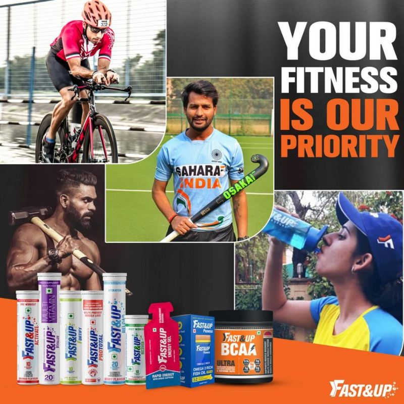 Fast&Up has a host of products to cater to your sporting needs