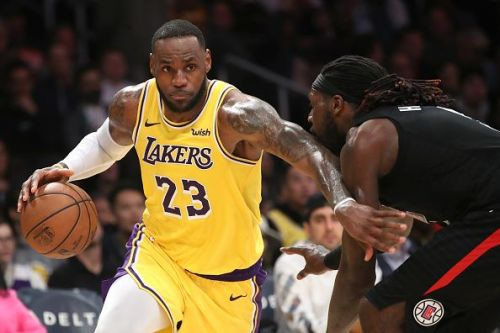 LeBron James' future with the Los Angeles Lakers has been called into question