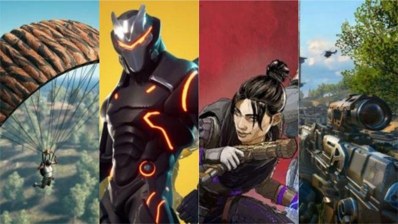 TOP 5 BATTLE ROYALE GAMES