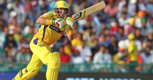 Michael Hussey is the leading run scorer in KXIP vs CSK matches at Mohali.