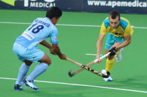 Nilakanta Sharma scored the first goal for India