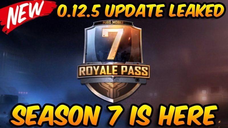 PUBG Mobile Update v0 12 5: PUBG Mobile Season 7 release