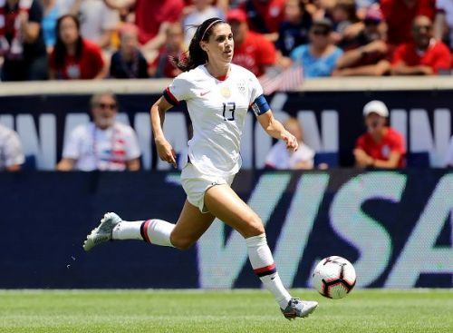 Alex Morgan will spearhead the USWNT's World Cup title defence