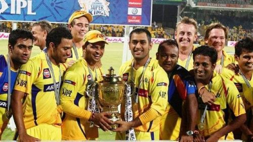 CSK are three times IPL champions