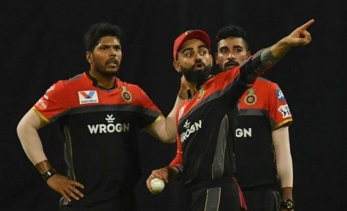 RCB's fast bowlers once again failed to deliver(Picture courtesy: iplt20.com/BCCI)
