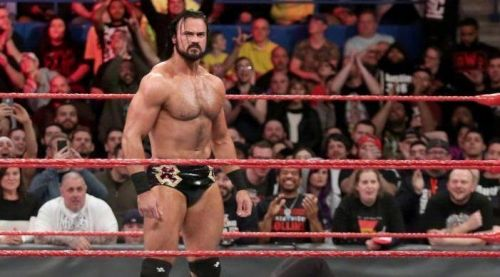 Drew Mcintyre was tipped to be the next big thing but as of of now he's being used in Shane McMahon's ongoing feud with Roman Reigns