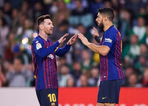 Barca's attack will be yearning to go