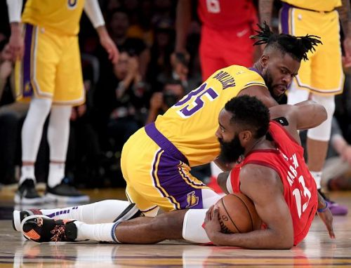 Reggie Bullock spent the final months of the season with the Lakers
