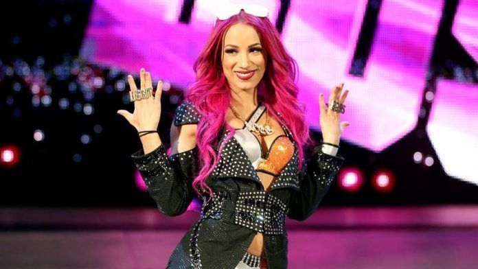 Sasha Banks is upset at WWE