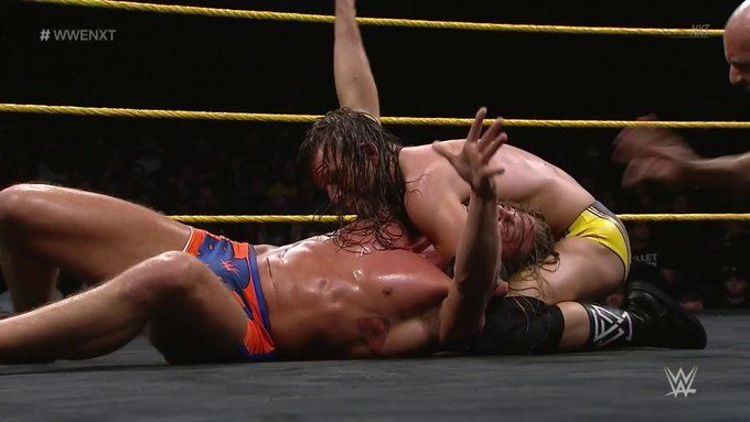 Adam Cole took on Matt Riddle in an incredible main event