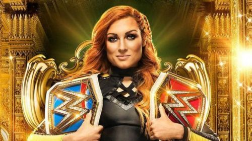 Becky defends both championships at MITB