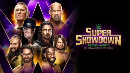 Super ShowDown will be the third WWE event in Saudi Arabia!