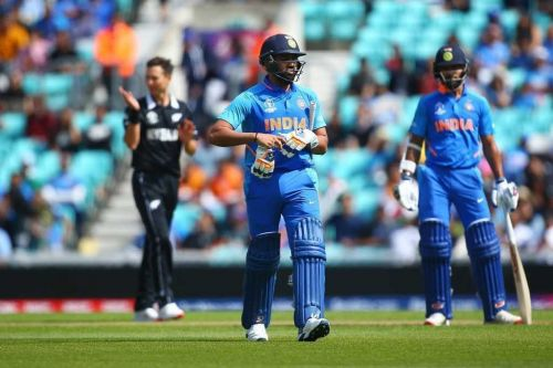 Indian batsmen struggled to get going