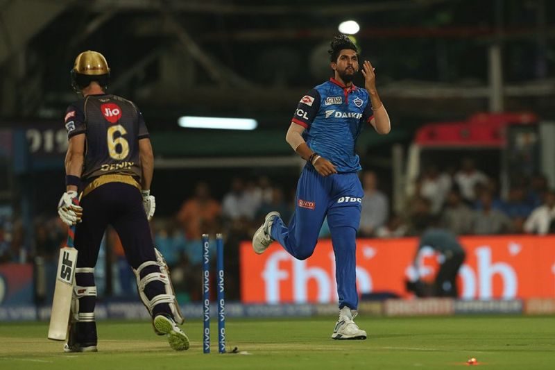 Ishant bowled a peach of a delivery to dismiss Joe Denly for a golden duck. (Image Courtesy: iplt20.com)