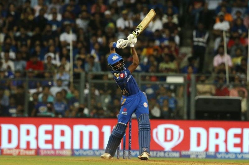 Hardik Pandya showed great consistency with his merciless hitting (Pic courtesy - BCCI/iplt20.com)