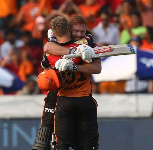 Johnny Bairstow and David Warner are the best opening pair of the season (picture courtesy: BCCI/iplt20.com)