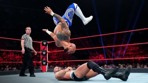 Ricochet and Cesaro had a show-stealing match on this week's RAW.