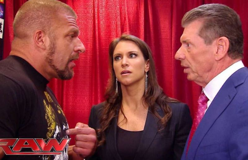 Triple H and the McMahon family