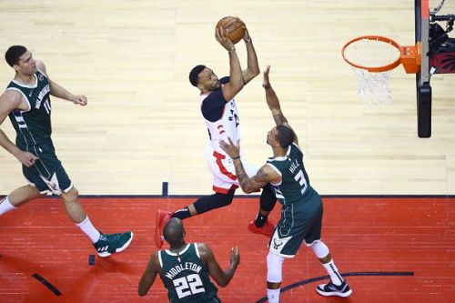 Milwaukee Bucks v Toronto Raptors - Game Three