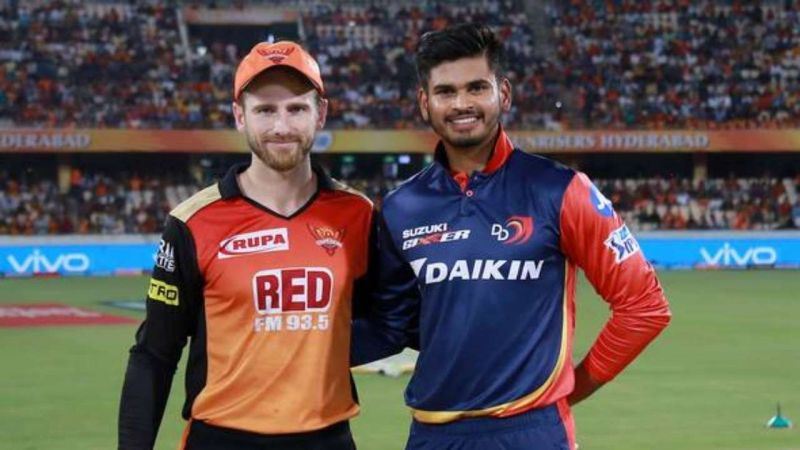 Kane Williamson and Shreyas Iyer (image credits: iplt20.com)