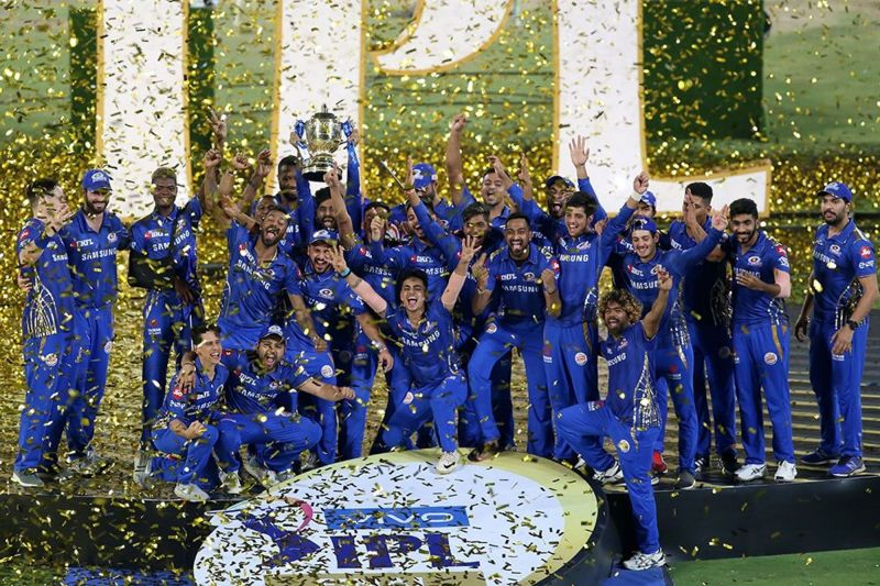 Mumbai Indians won the title for a record 4th time (Image credits: IPLT20/BCCI)
