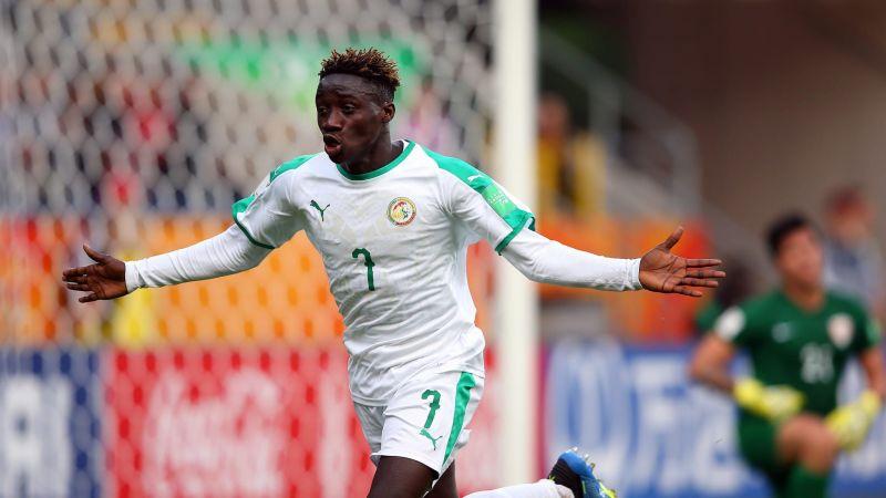 Amadou Sagna from Senegal scored a hat-trick