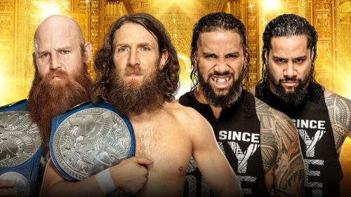 The Usos will challenge Daniel Bryan and Rowan for the SmackDown Tag Team Championship in a Kickoff Match before Money in the Bank.
