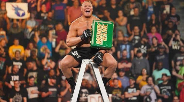 Brock Lesnar won the 2019 men