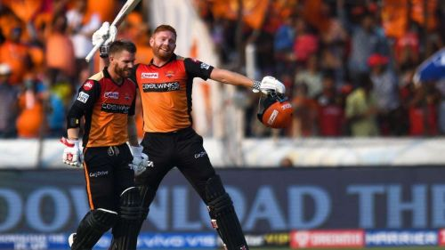 Warner and Bairstow stitched four hundred-plus partnerships in 10 games. (Pic courtesy - BCCI/iplt20.com)