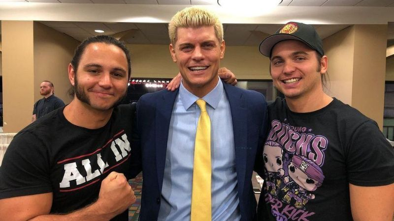 Cody Rhodes and The Young Bucks are executive vice presidents of AEW