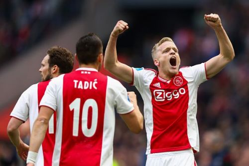The youngster was an integral part of the Ajax side