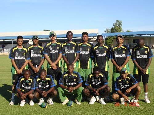 The East African team consisted of the players from many African nations.