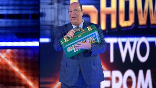 Paul Heyman made a surprise cameo on the blue brand