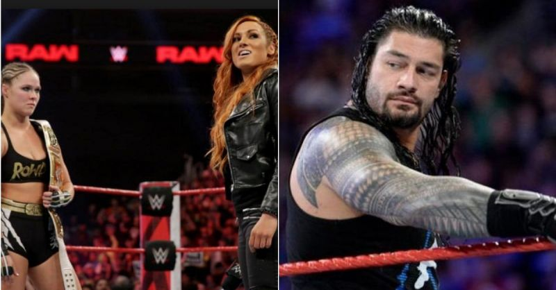 Ronda Rousey and Roman Reigns aren