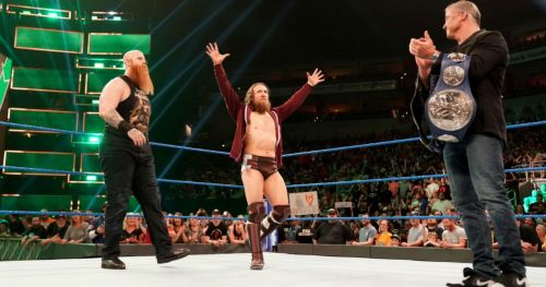 Daniel Bryan picking up the win for his team could balance things between him and Rowan.