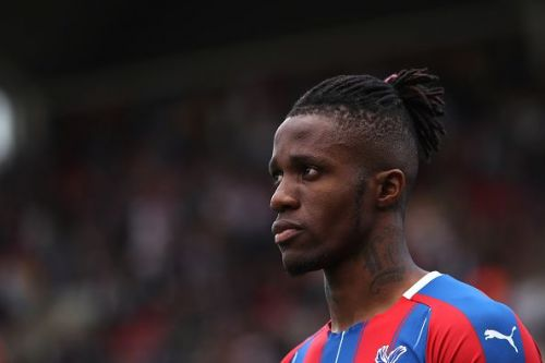 Wilfried Zaha is keen on a return to Old Trafford