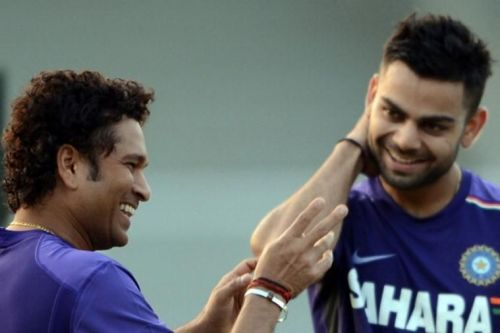 Kohli and Tendulkar have mutual admiration and respect for one another