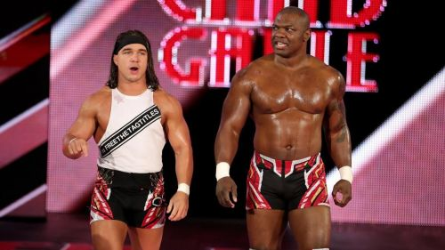 Benjamin and Gable worked well as a heel tag team on the B show
