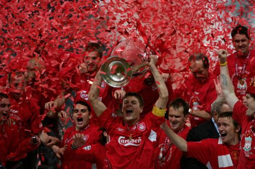 Liverpool won their fifth UCL title back against AC Milan in Istanbul, 2005