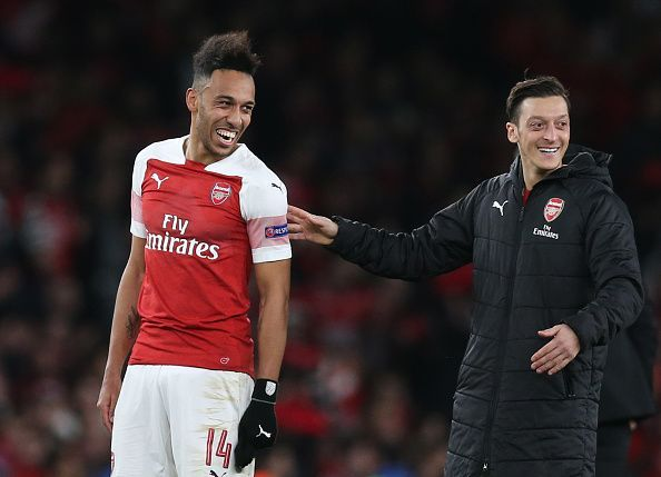 Aubameyang and Ozil will be out of contract in 2021