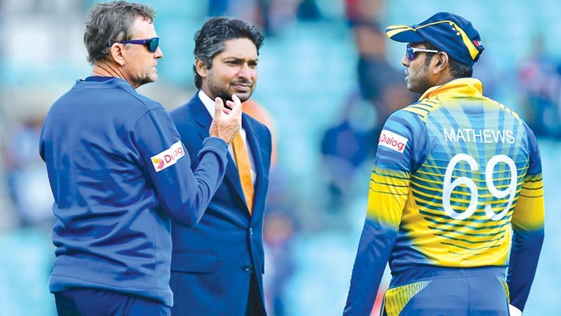 Kumar Sangakkara who has scored record four consecutive centuries during the last World Cup now will also lend his voice behind the mic