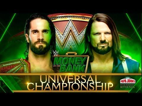 MITB 2019: Seth Rollins vs AJ Styles