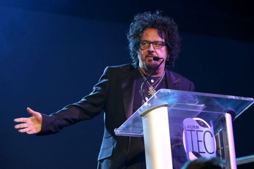 Steve Lukather at the 2019 NAMM Show's 34th Annual NAMM TEC Awards