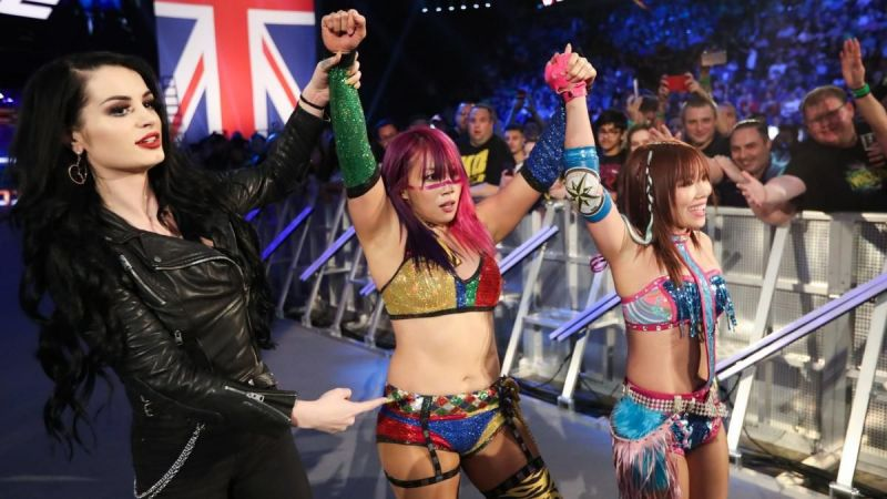 The Kabuki Warriors on SmackDown Live