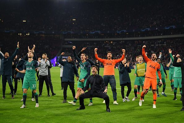 Tottenham pulled off a Champions League miracle tonight to beat Ajax 2-3 and make the final