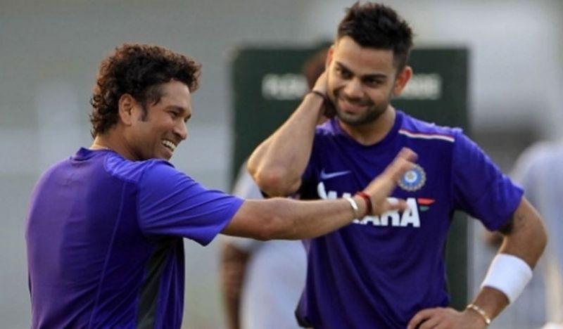 Virat Kohli breaks the Sachin Tendulkar records
